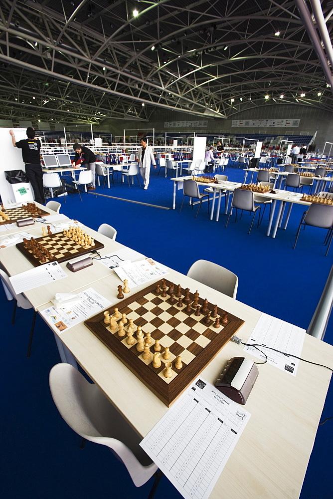 World Chess Championship, Palazzo Oval, Turin, Piedmont, Italy, Europe
