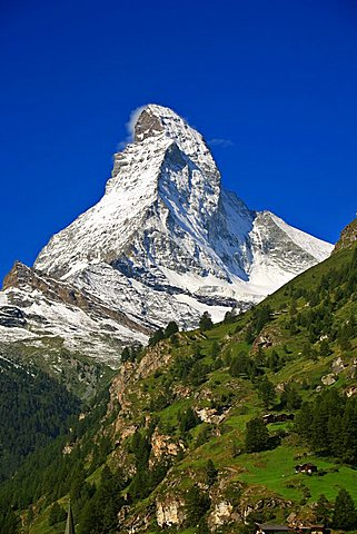 Matterhorn mountain, Zermatt, Valais, Switzerland, Europe
