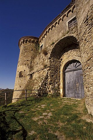 Castle of Rocca Cilento, Parco Nazionale del Cilento e Vallo di Diano, Salerno, Campania, Italy.