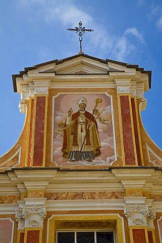 San Martino church, Seborga, Ligury, Italy