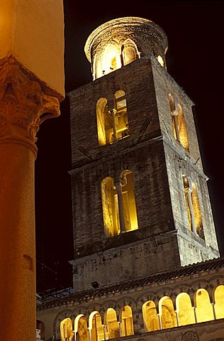 San Matteo cathedral, Salerno, Campania, Italy