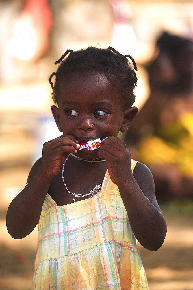 African child, Dakar, Republic of Senegal, Africa