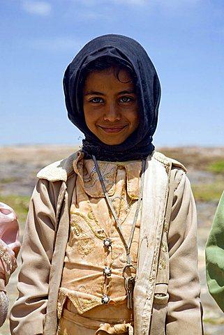 Yemenite child, Zakati, Yemen, Middle East