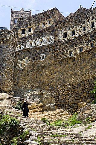 Al Hajjarah, Manakha outskirts, Yemen, Middle East