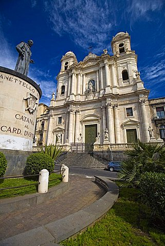 San Francesco square, Catania, Sicily, Italy, Europe