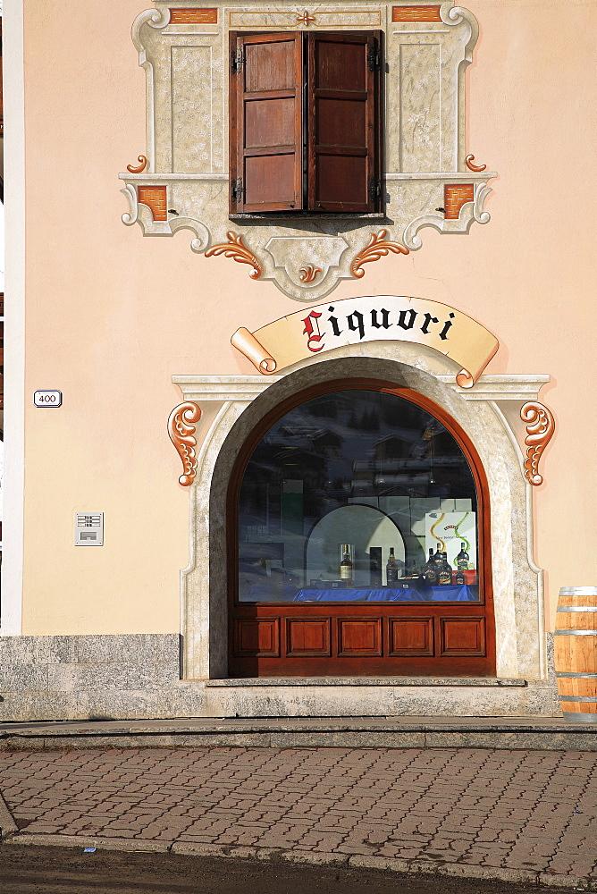 Liquor shop, Livigno, Lombardy, Italy