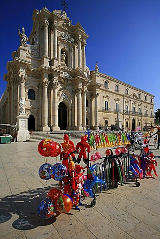 Cathedral, Syracuse, Sicily, Italy