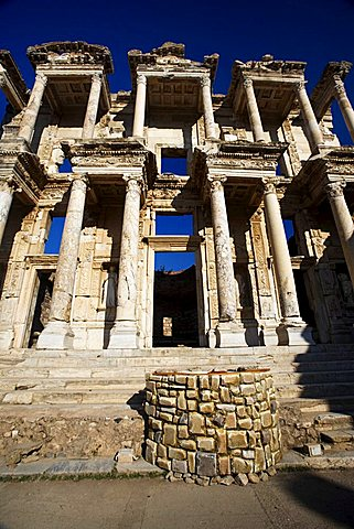 The Library of Celsus, Ephesus, Kusadasi,Turkey, Europe