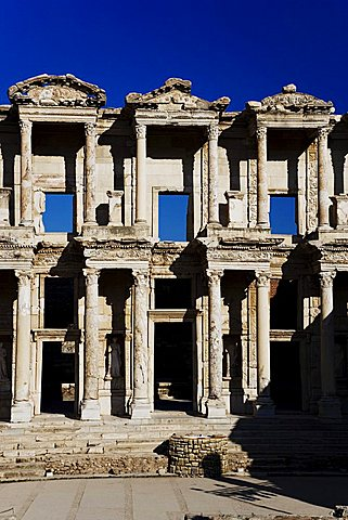 The Library of Celsus, Ephesus, Kusadasi, Turkey, Europe