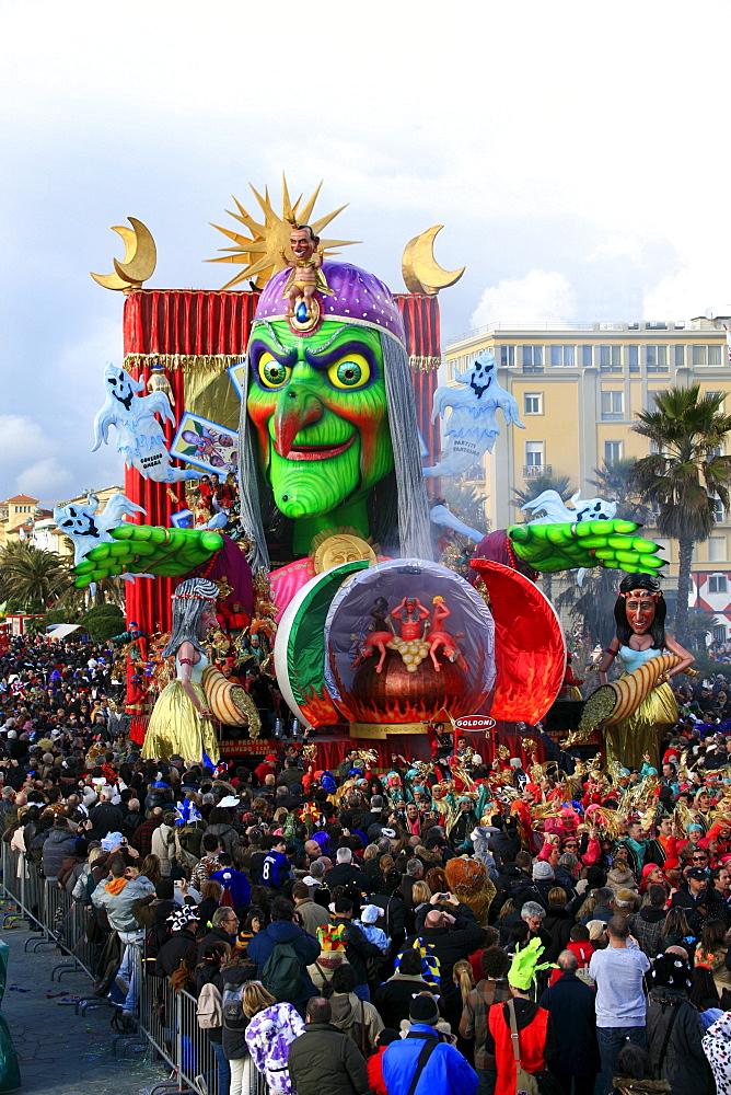 Viareggio Carnival, Viareggio, Lucca, Tuscany, Italy - 746-56155