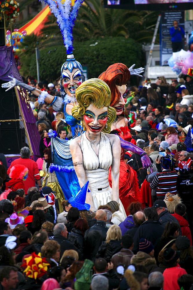 Viareggio Carnival, Viareggio, Lucca, Tuscany, Italy - 746-56163
