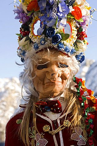 Carnival, Saint Rhémy en Bosses, Valle d'Aosta, Italy