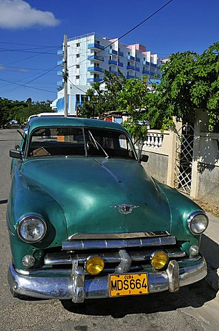 Old car, Cuba, West Indies, Central America