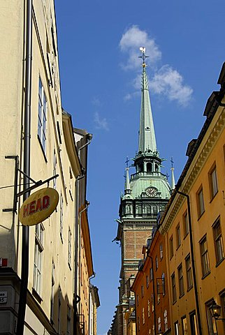 Foreshortening, Stockholm, Sweden, Scandinavia, Europe