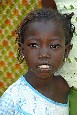Wolof child, Republic of Senegal, Africa