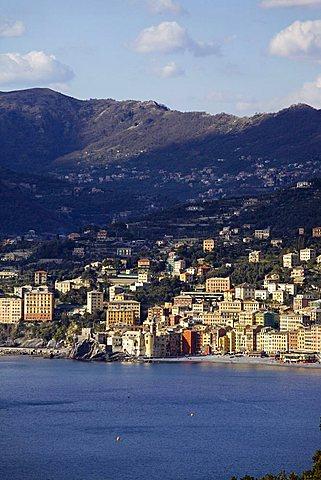 Camogli from Punta Chiappa, Ligury, Italy