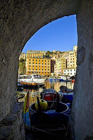 Port, Camogli, Ligury, Italy