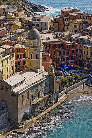 Vernazza, Cinque Terre, Ligury, Italy