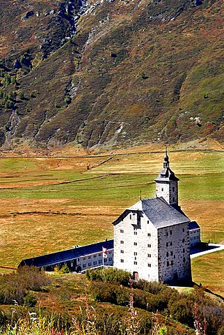 hospice Stockalper, near Simplon Pass, Switzerlad