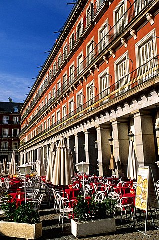 Plaza Mayor, Madrid, Spain, Europe