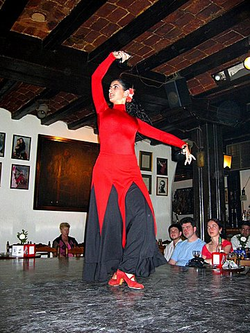 Flamenco dancer, Madrid, Spain, Europe
