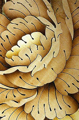 Inlay wood work from Sorrento, Campania, Italy