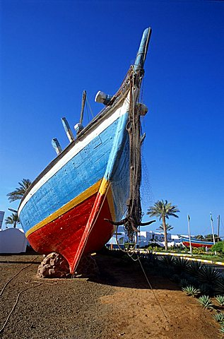 Sambuco, typical arabic ship, Jeddah, Saudi Arabia, Middle East