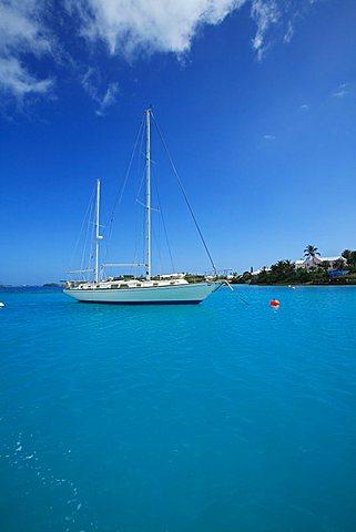 Sailing boat, Bermuda, Atlantic Ocean, Central America