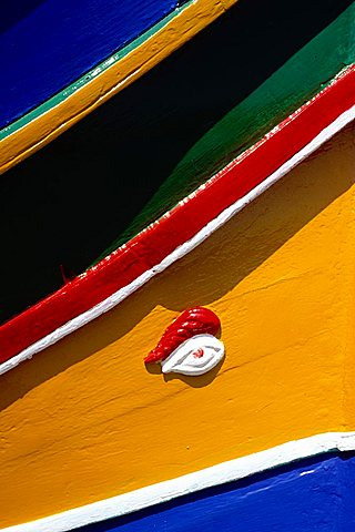 Magic-religious symbols on locala boats, Malta