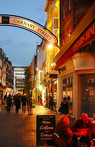 Carnaby street, London, England, United Kingdom,