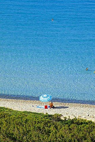 Cala Regina, Quartu Sant'Elena beach, Sardinia, Italy, Europe