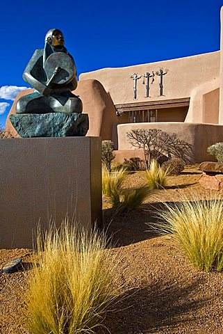 Museum Hill, Santa Fe, New Mexico, United States of America, North America