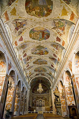 Santa Caterina d'Alessandria Church, Pedara, Catania, Sicily, Italy, Europe