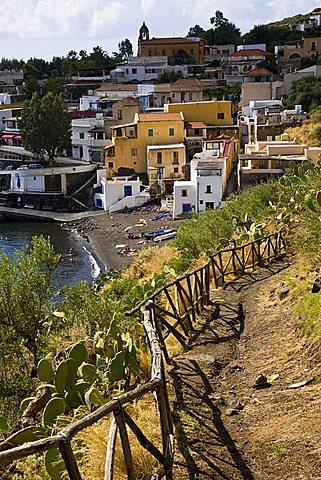 Rinella beach, Salina Island, Messina, Sicily, Italy, Europe