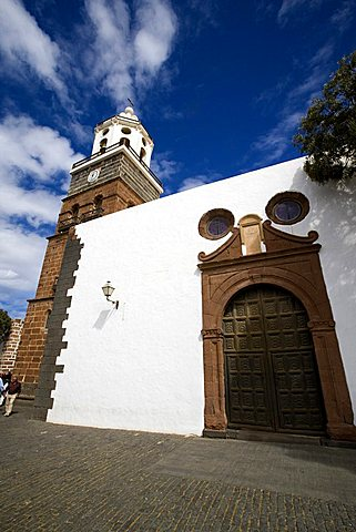 Nuestra Senora de Guadalupe church, Teguise, Lanzarote, Canary Islands, Spain