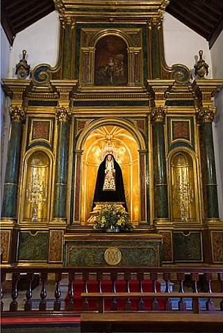 Interior of San Francisco church, side chapel, Las Palmas, Gran Canaria, Canary Islands, Spain, Europe