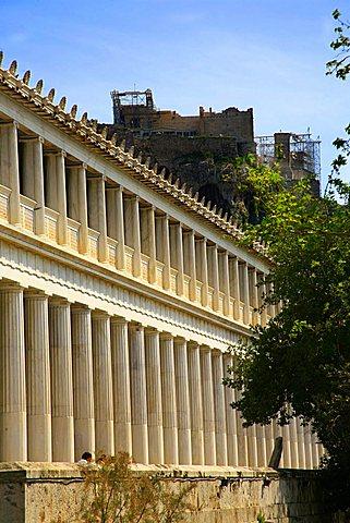 Stoa of Attalos, Athens, Greece, Europe