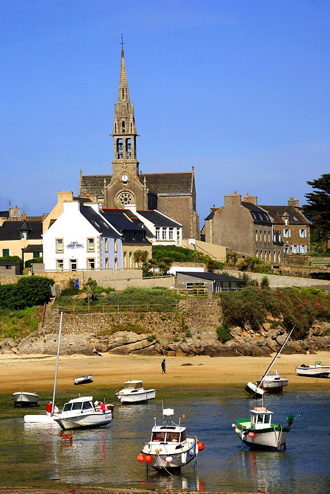 Batz island, Roscoff, Finistère department , Bretagne, France, Europe