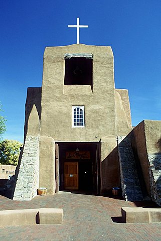 San Miguel Mission, New Mexico, USA