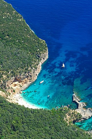 Cala Biriala, Golfo di Orosei gulf, Baunei, Sardinia, Italy, Europe