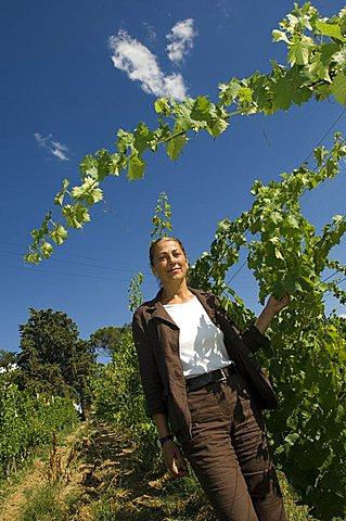 Simona Valli, Cantina Rocca dei Fabbri, Montefalco, Umbria, Italy, Europe
