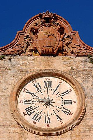 Old town, Montefalco, Umbria, Italy, Europe