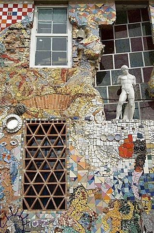 Metelkova, hippy quarter, Ljubljana, Slovenia, Europe