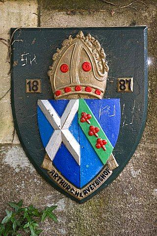 Heraldry, Wells, Somerset, England, United Kingdom, Europe
