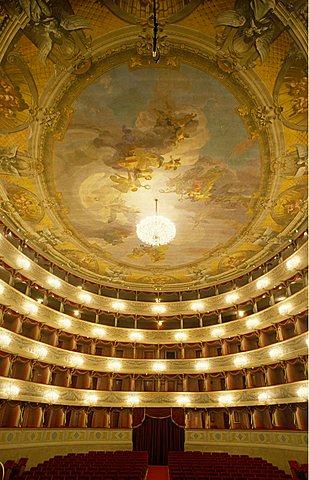 Teatro Donizetti, Bergamo, Lombardy, Italy