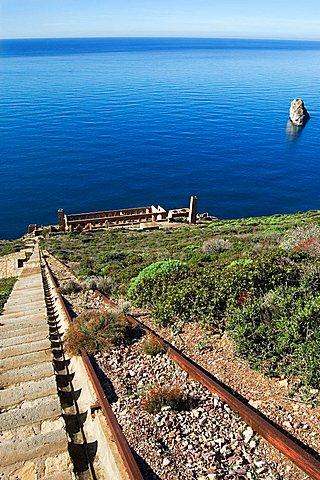 Nebida, Masua, Iglesias, Sardinia, Italy, Europe