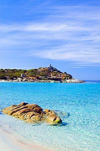 Punta Molentis, Villasimius, Cagliari, Sardinia, Italy, Europe