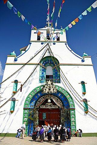 San Juan Chamula, San Cristobal de las Casas, Chiapas, Mexico, America