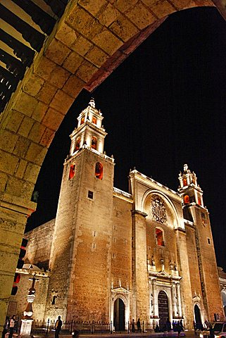 San Idelfonso Cathedral, Merida, Yucatan, Mexico, America