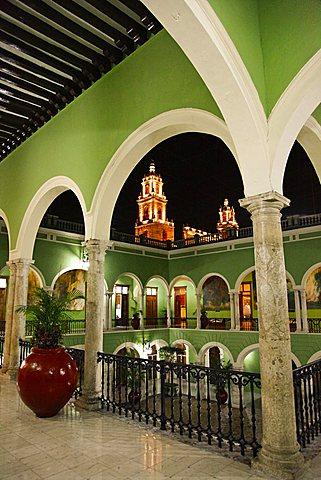 Palacio del Gobierno, Merida, Yucatan, Mexico, America